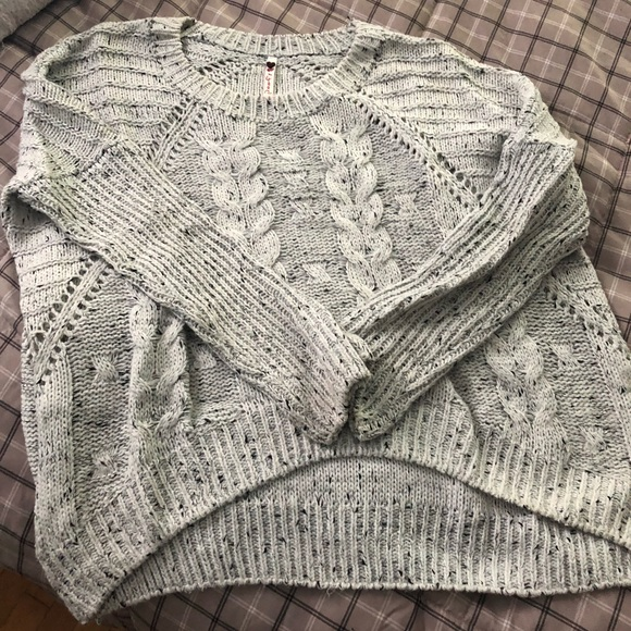Poof! Sweaters - Poof thick knitted sweater